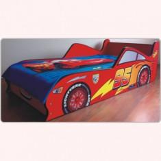 Pat copii masina Fulger McQueen - Pat tematic pentru copii Altele, Altele, Alte dimensiuni, Rosu