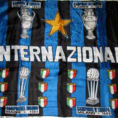 Steag fotbal - INTERNAZIONALE MILANO (dimensiuni 102 x 79 cm)