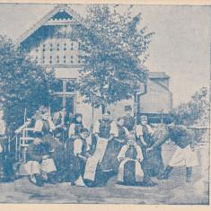 HUEDIN, SALUTARI DIN HUEDIN, CLASICA, CIRCULATA SEP. 1901 - Carte Postala Transilvania pana la 1904, Printata