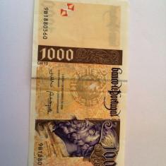 PORTUGALIA 1000 ESCUDOS 2000 - bancnota europa