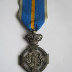 Crucea Serviciul Credincios ( model 1932 ) pt Civili, clasa a 2 -a + Brevet ! - Decoratie