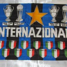 Steag fotbal - INTERNAZIONALE MILANO (dimensiuni 67 x 44 cm)