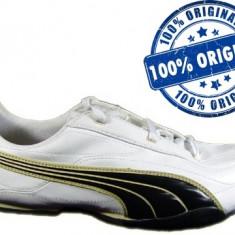 Adidasi barbat Puma Ryu - adidasi originali - cutie originala - cu factura - Adidasi barbati Puma, Marime: 46, Culoare: Alb, Piele sintetica