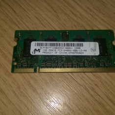 Memorie laptop 1 GB DDR2 PC2-6400 800 Mhz - Memorie RAM laptop Micron