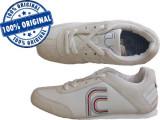 Adidasi barbat French Connection Myrtle - adidasi originali - piele naturala, 39, Alb, French Connection
