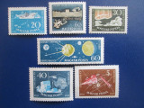 TIMBRE UNGARIA SERIE MNH