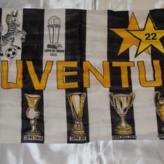 Steag fotbal - JUVENTUS TORINO (dimensiuni 71 x 45 cm)