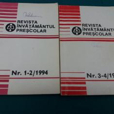 REVISTA ÎNVĂȚĂMÂNTUL PREȘCOLAR 1994/ NR. 1-2, 3-4 - Revista scolara