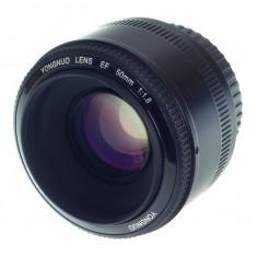 Yongnuo YN 50mm f1.8 pentru Canon EOS - Obiectiv DSLR Yongnuo, Autofocus, Canon - EF/EF-S