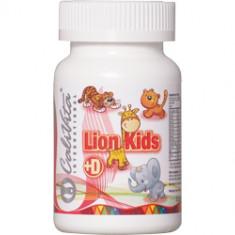 Lion Kids cu vitamina D (90 tablete) Calivita - Vitamine/Minerale