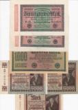 BANCNOTE GERMANIA  LOT 6 BUC. EMISE 1922  , 20000 , 1000 , 5000 MARCI, XF - AUNC