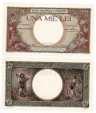 SV * Romania  1000  LEI  1939     Regele Carol II     UNC