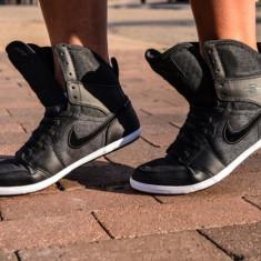 Ghete originale NIKE JORDAN 1 - Ghete dama Nike, Culoare: Din imagine, Marime: 38, 38.5, 39