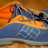 Adidasi copii COLUMBIA 29 1/3 talpic 18 cm trekking transport inclus - Incaltaminte outdoor