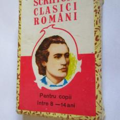 JOC COMPLET(32 CARTI+INSTRUCTIUNI) IN CUTIA ORIGINALA SCRIITORI CLASICI ROMANI - Joc colectie