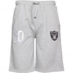 Pantaloni scurti, sort barbati MAJESTIC Raiders 100% originali, noi, etichetati - Bermude barbati, Marime: S, L, Culoare: Gri, Bumbac