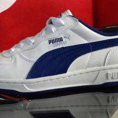 Adidasi originali PUMA CONTEST - Adidasi dama Puma, Culoare: Alb, Marime: 38, 38.5, Piele naturala
