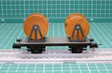 Vagon transport role cablu marca Piko Express scara HO(5629), 1:87, Vagoane