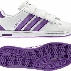 Adidasi originali ADIDAS DERBY CMF - Adidasi dama, Culoare: Alb, Marime: 38, Piele naturala