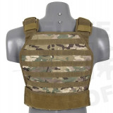 Vesta tactica Armor plate Carrier Multicam [8FIELDS] - Echipament Airsoft