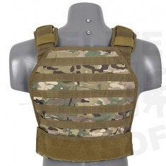 Vesta tactica Armor plate Carrier Multicam [8FIELDS] - Echipament Airsoft