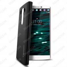 Husa subtire slim Spigen SGP11803 LG V10 din policarbonat - Husa Telefon SPIGEN, Negru