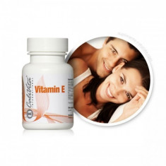 Vitamina E - (100 capsule gelatinoase) Calivita - Vitamine/Minerale
