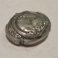 Cutie arome Epoca Snuff Box tip Medalion art nouveau Franta 1900 vintage SUPERBA