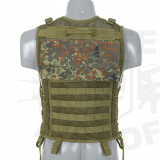 Vesta MESH Flecktarn [8FIELDS] - Echipament Airsoft
