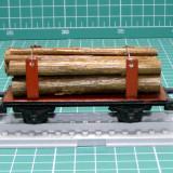 Vagon transport busteni Piko Express scara HO(5635)
