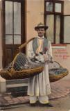 VANZATOR  DE  PUI  DE  GAINA   SALUTARI   DIN  ROMANIA   CIRCULATA, Printata