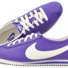 Adidasi originali NIKE CORTEZ - Adidasi dama Nike, Culoare: Mov, Marime: 38, Piele naturala