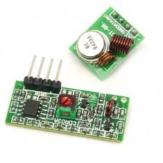 Modul RF 433Mhz kit transmiter + receiver Remote control Arduino Raspberry pi