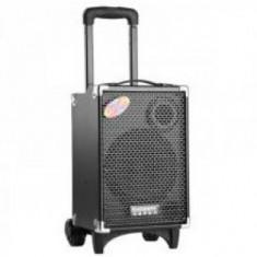 SISTEM KARAOKE, BOXA ACTIVA,MP3 PLAYER,EFECTE,ACUMULATOR +MICROFON WIRELESS.
