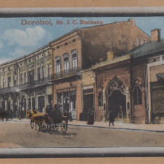 DOROHOI , STRADA I.C. BRATIANU , CIRCULATA OCT.1924