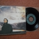CHRIS DE BURGH:  The Waiting Heart(1989) (vinil pop rock single cu 2 piese)