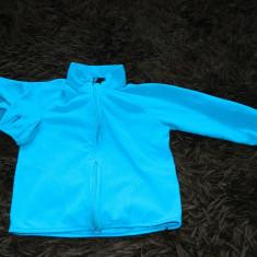 Bluza cu fermoar, bluzita sport copii, H&M, 4-6 ani. COMANDA MINIMA 30 LEI!, Culoare: Turcoaz, Unisex
