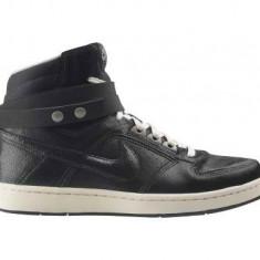 Ghete originale NIKE DELTA LITE - Ghete dama Nike, Culoare: Negru, Marime: 38.5, 39, 40, Piele naturala