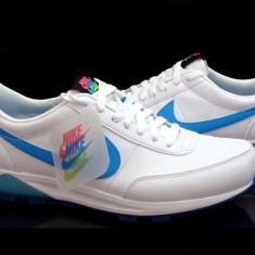 Adidasi originali NIKE OLDHAM TRAINER - Adidasi barbati Nike, Marime: 43, 44, Culoare: Alb, Piele naturala