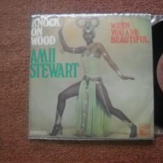 AMII STEWART: Knock On Wood (1979) (vinil disco single cu 2 piese) - Muzica Pop Altele