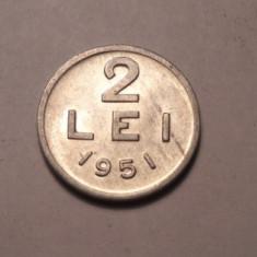 2 lei 1951 UNC - Moneda Romania
