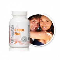 Vitamina C 1000 Plus - (100 Tablete) Calivita - Vitamine/Minerale