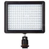 Lampa foto-video cu 160 LEDuri 12W lumina 1280 lumeni reflector Canon Nikon DSLR