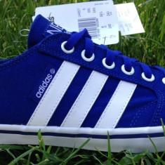 Tenisi originali ADIDAS CLEMENTE - Tenisi barbati Adidas, Marime: 39 1/3, Culoare: Albastru, Textil