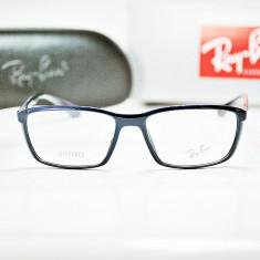 Rame de ochelari de vedere Ray Ban RB7018 5431 Lite Force - Rama ochelari Ray Ban, Unisex, Colorate, Dreptunghiulare, Plastic
