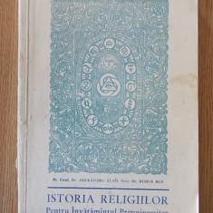 ISTORIA RELIGIILOR PENTRU INVATAMANTUL PREUNIVERSITAR- STAN, RUS- (TEOCTIST) - Carti ortodoxe