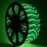 Furtun luminos 100m 2300 leduri verzi - Banda LED