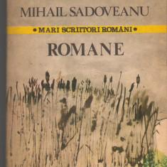 (C7081) MIHAIL SADOVEANU - ROMANE