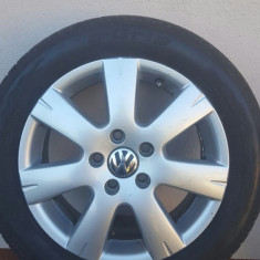Jante aluminiu Volkswagen pe 16, dimensiune 205/55/R16 - Janta aliaj Volkswagen, Numar prezoane: 5