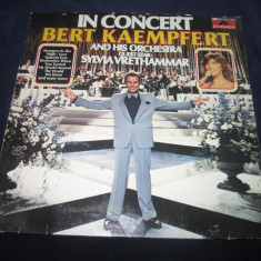 Bert Kaempfert & His Orchestra ‎– In Concert _ Vinyl, LP, Germania easy listening - Muzica Jazz Altele, VINIL